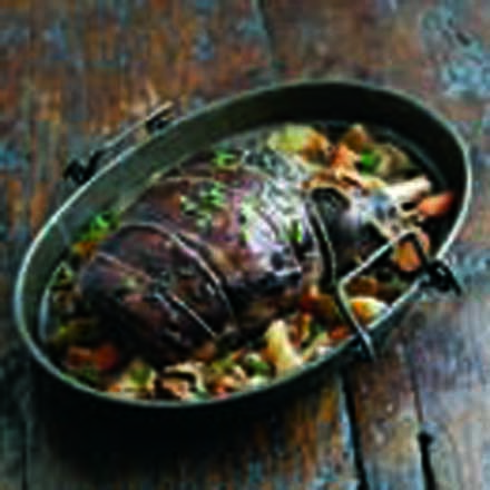 Pot Roast Shoulder of Lamb