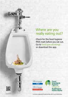 The FSA campaign image deemed ill-judged by industry.