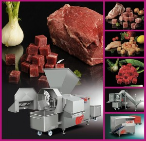 Interfood is to distribute FOODLOGISTIK dicing and shredding equipment in the UK and Ireland.
