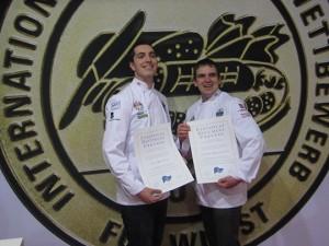 Kyle Mottram (left) and Andrew Brassington.