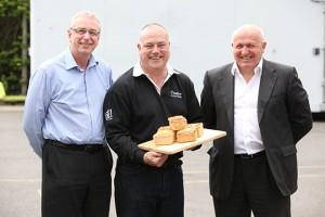 L-R: Steve Foster, Mark Beeston and Simon Dunkley from Dunkleys