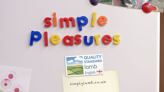 EBLEX's Simple Pleasures campaign is back on TV.
