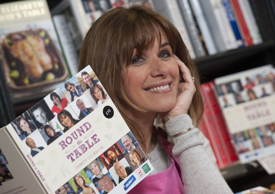 TV's Carol Smillie will be taking part in a butchery demonstration at The BBC Good Food Show.
