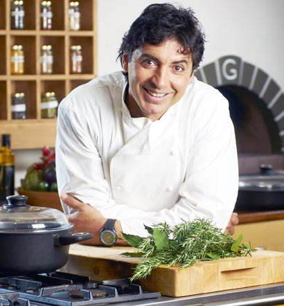 Jean-Christophe Novelli, who will present the Q Guild's 2013 Smithfield Awards.