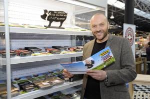 Sausage week's ambassador, chef, Simon Rimmer.