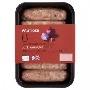 Waitrose sausages