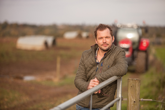 Jimmy Doherty is the face of the Red Tractor in BPEX TV campaign.