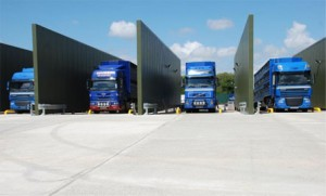 The Dalehead lorry-wash facility at Spalding, which voting so far has identified as the best in the country.