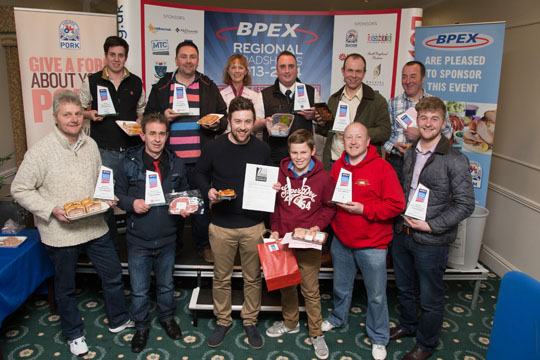 Winners of the North East BPEX Roadshow 2014.
