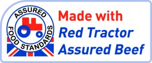 The new 'Made with' Red Tractor logo for use on ready meals on pies will be used by ASDA.