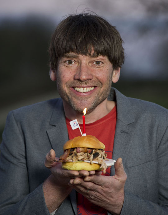 Alex James aims to set food world alight as a Red Tractor ambassador.