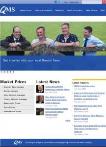 QMS new look website.