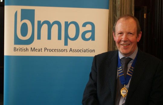 New BMPA president, Petter Mitchell.