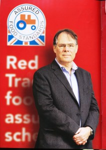David Clarke, CEO of Red Tractor.