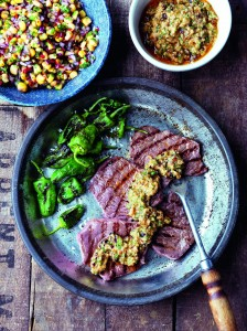 AHDB Beef & Lamb - Thin Cut Steaks with chipotle pesto