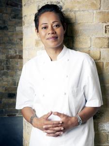Celebrity chef Monica Galetti.