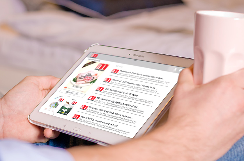 Access the latest Meat Management by downloading the new Android app.