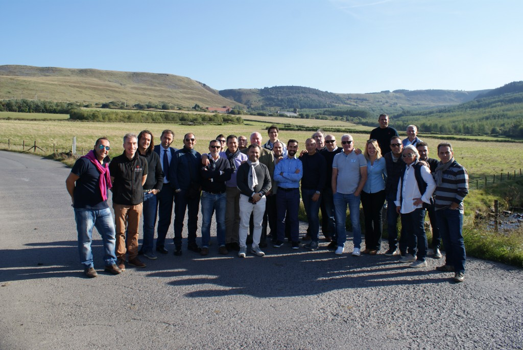The 21-strong Cesenam-based group of Italian importers.