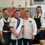The 'British Beefeaters' will represent GB at the World Butchers' Challenge.