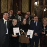 Winners celebrate at British Poultry Council Awards