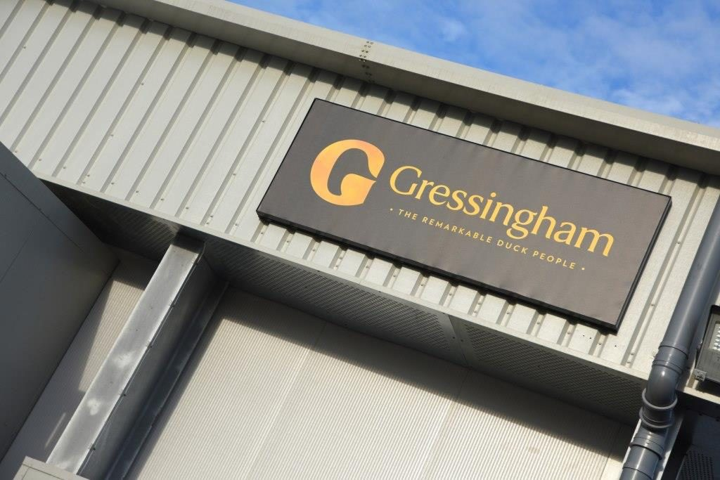 The new Gressingham Foods distribution centre in Redgrave, Diss