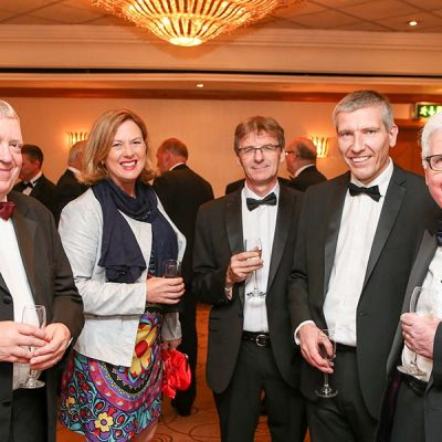 Andrew Kuyk CBE with Christine Walsh, Gerard McGivorn, Ian Stevenson and Bob Bansback OBE.