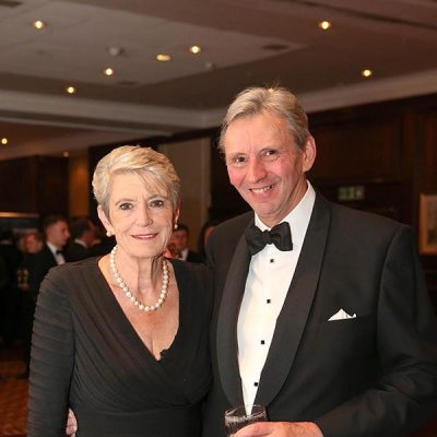 NFMFT chief executive Roger Kelsey with former BDCI committee chairman Susan White MBE.