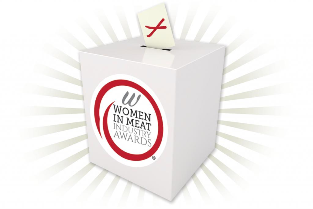 Women in Meat Industry Awards ballot box
