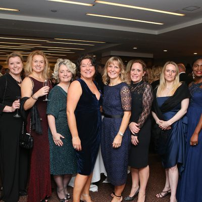 Various ladies from Tulip Ltd including Rising Star Award winner Sophie Cave.