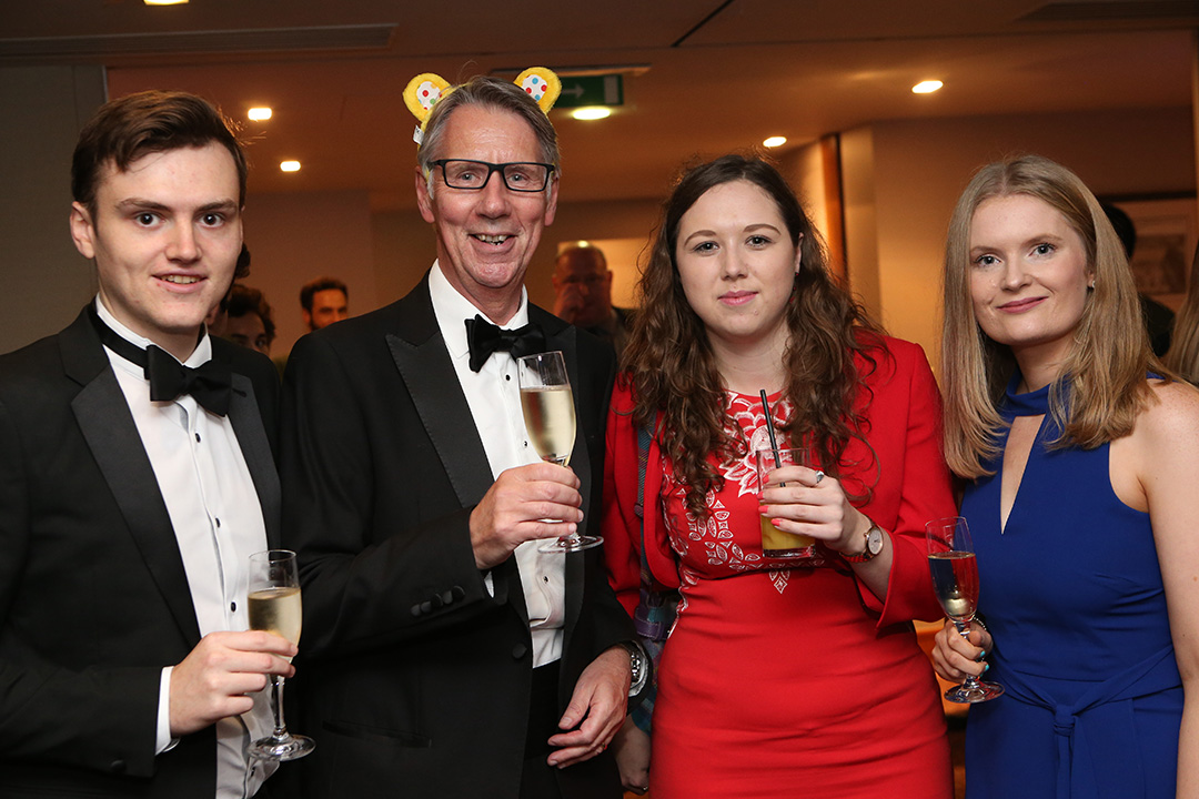 L-R: Dan Soper of IMTA, Towers Thompson's Paul Dolan, IMTA's Katie Doherty and IMTA's Katrina Walsh.