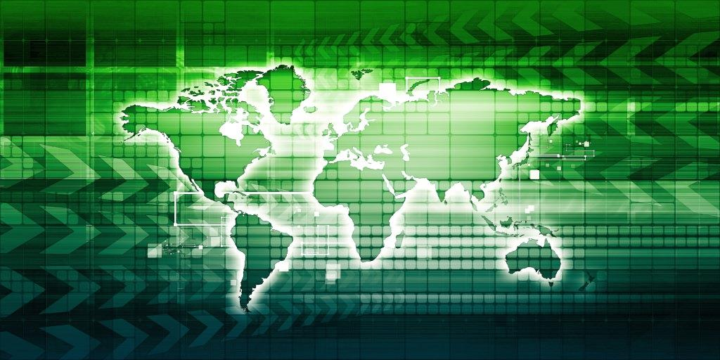 Map to show Global Logistics