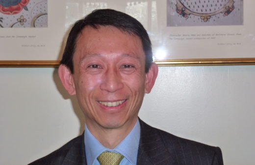 Secretary General of IMS, Hsin Huang