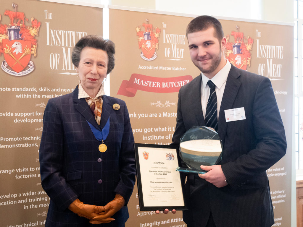 IoM / WCB annual prize-giving 2019 is a royal celebration   Meat