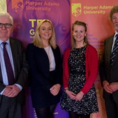 Harper Adams University students receive BDCI Bursary
