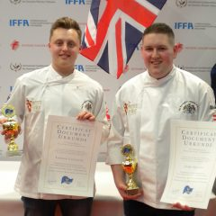 Team UK's young butchers return from IFFA with success under their belts
