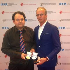 UK's only entrant in IFFA product competitions wins multiple medals again for his black pudding recipes
