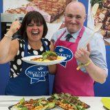 Auctioneers head-to-head in culinary showdown