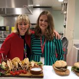 Young Welsh farmer cooks her award-winning dish at Sainsbury's HQ