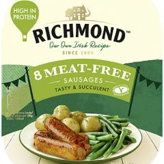 Kerry Foods launches meat-free Richmond sausages