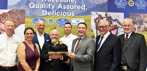 Importers rewarded for commitment to Scottish red meat industry