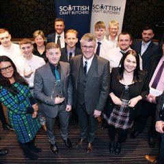 Scottish butchery talent celebrated at National Training Awards