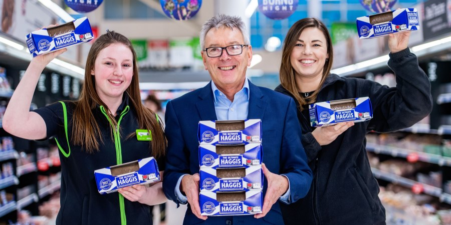 The Ultimate Haggis in Asda stores in the UK