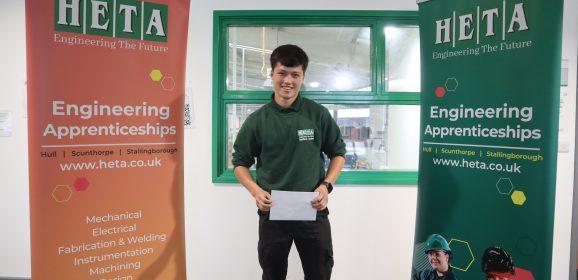 Karro engineer receives Apprentice of the Year award